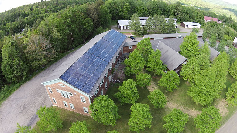 Aegis Renewable Energy was the turnkey installer of this M5 Solar Array; Waitsfield Vermont