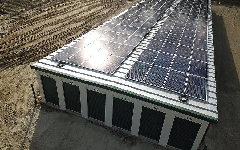 Ayer's Goat Dairy; Vermont Creamery Roof top solar array