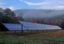 Town of Warren Solar Array; by Aegis Renewable Energy