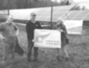 Community Solar Farm Completion Ceremony