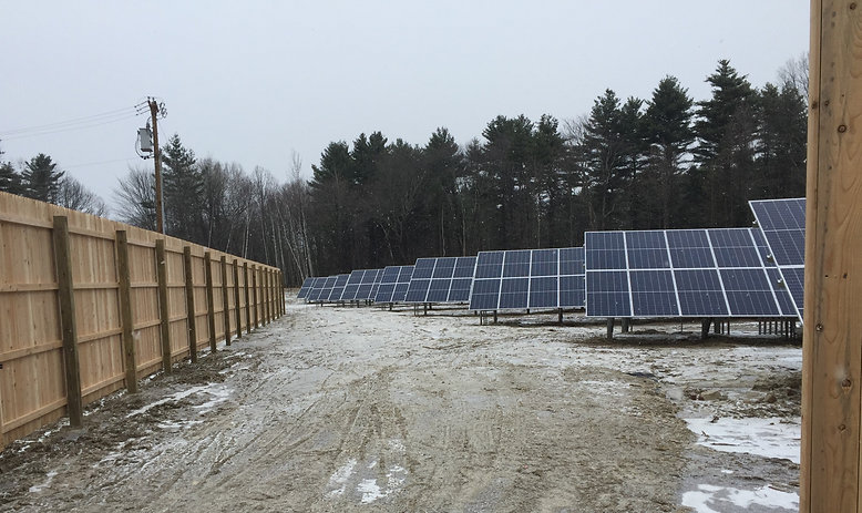 Town of Colchester-Roosevelt  Solar Arra