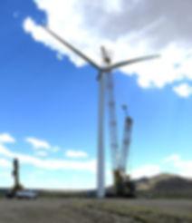 Aegis Renewable Energy Wind Turbine Installation