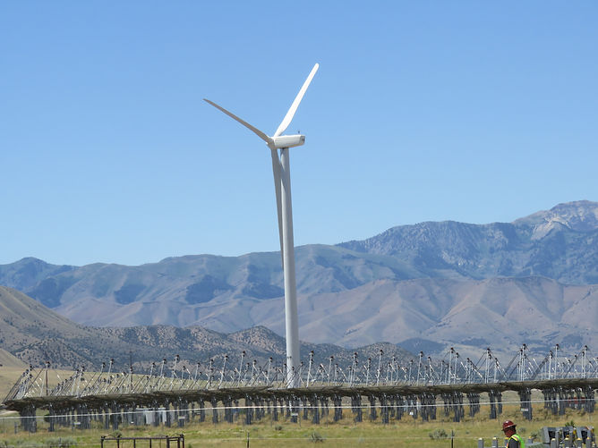 Tooele Army Depot; Tooele Utah Wind Turbine