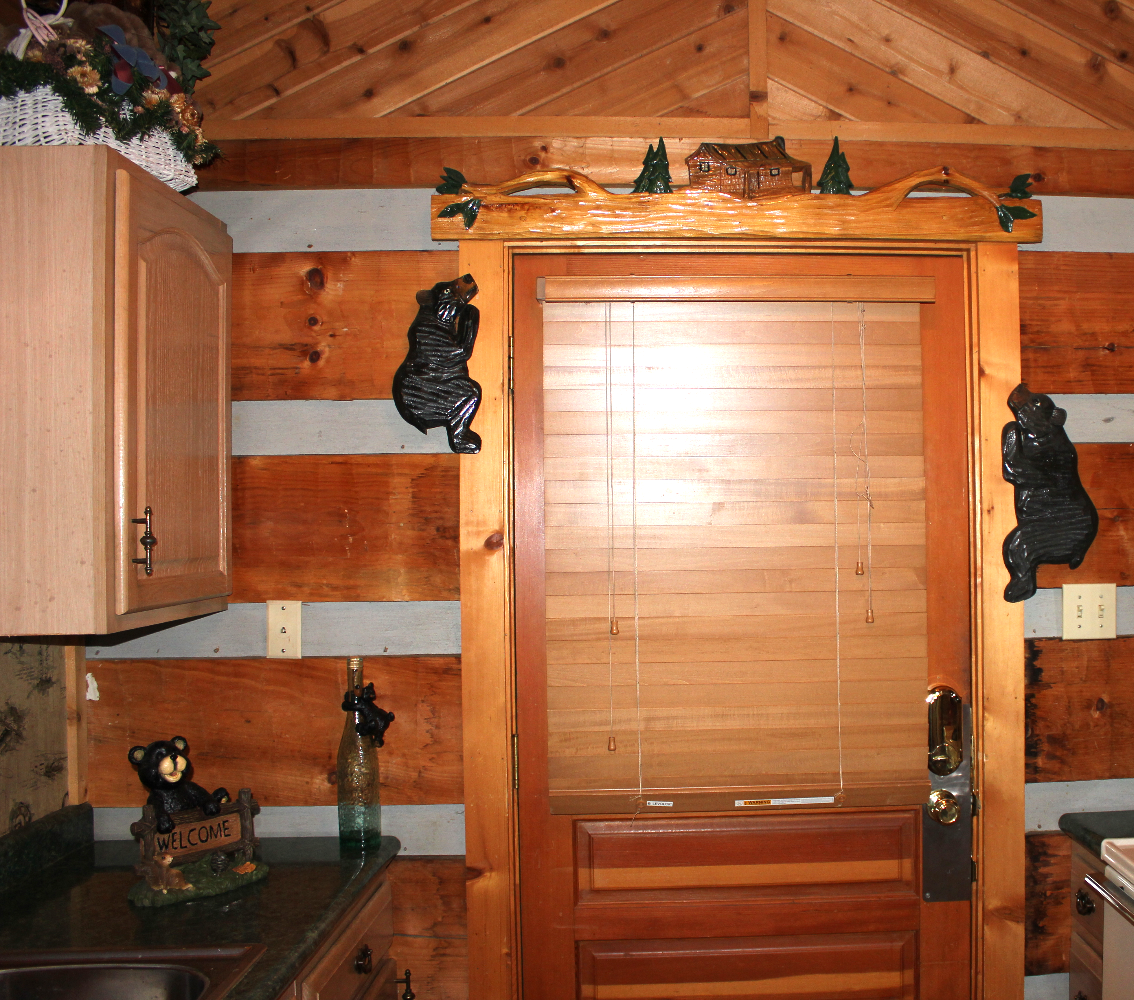 bears on door trim