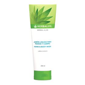 Herbal Aloe - Jabón líquido para manos y cuerpo