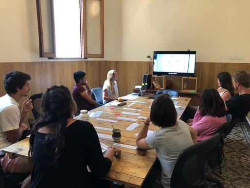 Taller sobre Diseño de Conversaciones para la ONG TECHO