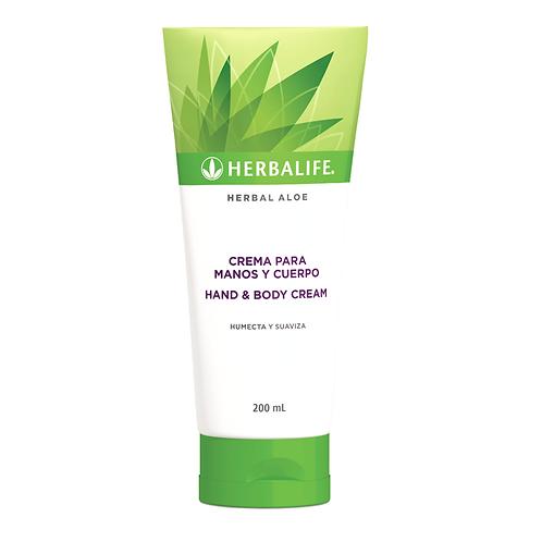 Herbal Aloe - Crema para manos y cuerpo