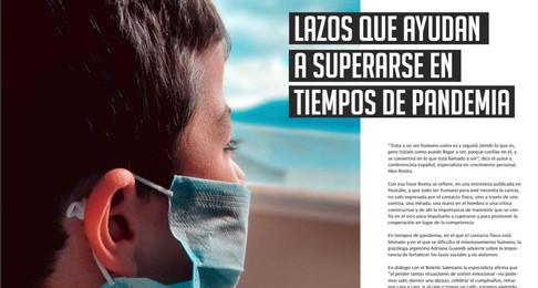 Lazos que ayudan a superarse en tiempos de pandemia - Lic. Adriana Guraieb