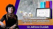 Nuevos hábitos de consumo en pandemia - Lic. Adriana Guraieb