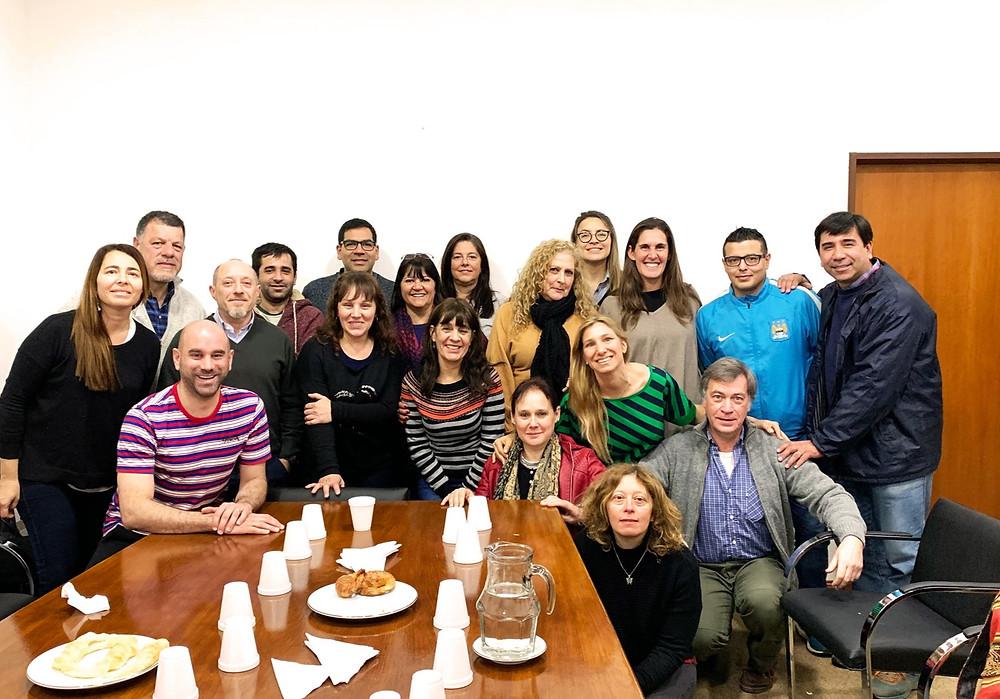 Taller: al equipo de la Dirección de Comercio de Buenos Aires, en la ciudad de La Plata.
