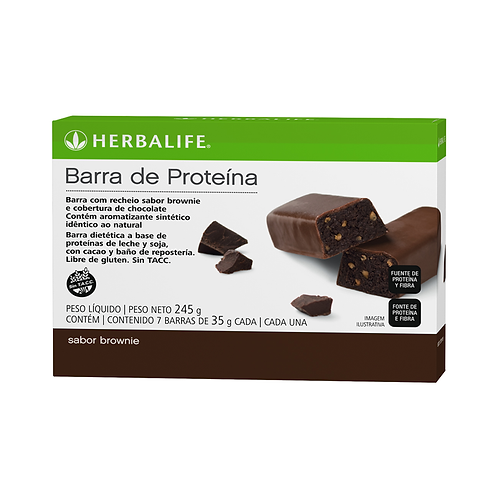 Barra de Proteina - Brownie