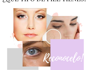 ¿Sabes cómo detectar cual es tu tipo de piel?