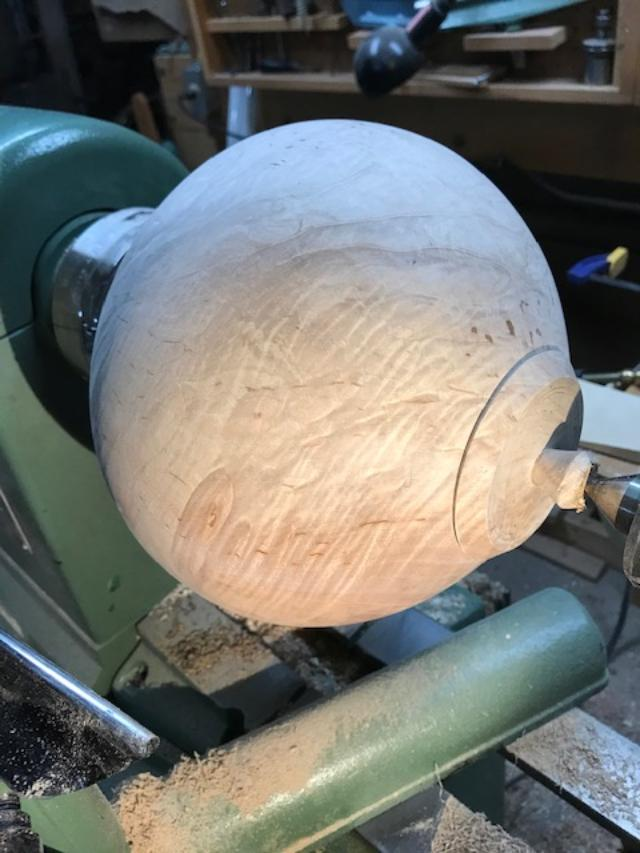 hollow form progress