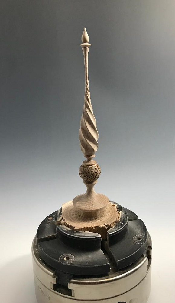 twisted finial wip