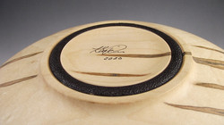 bowl base with signature