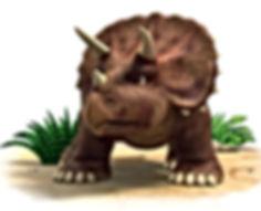 Dinosaur Stomp facing front