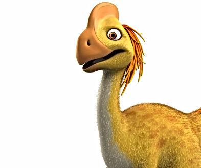 Dinosaur Flap head and body