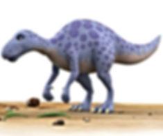 Dinosaur Chew standing still