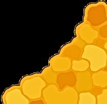 Light orange scale pattern