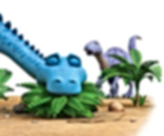 Dinosaur Munch and Dinosaur Chew