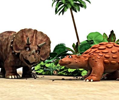 Dinosaur Bash and Dinosaur Stomp