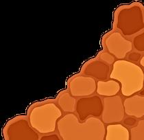 Tan scale pattern