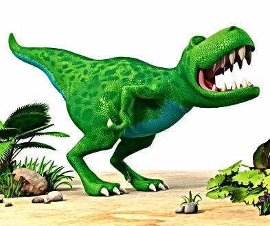 Dinosaur Roar roaring