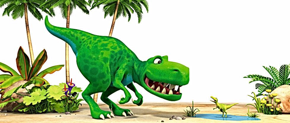 Dinosaur Squeak and Dinosaur Roar