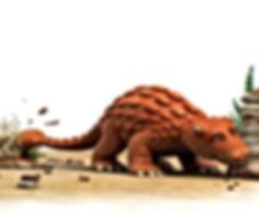 Dinosaur Bash bashing rocks