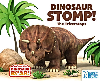 Dinosaur Stomp book cover