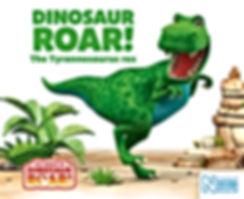 Dinosaur Roar book cover