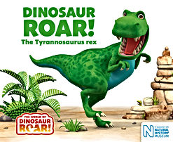 Dinosaur Roar book cover