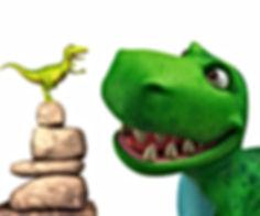 Dinosaur Roar and Dinosaur Squeak