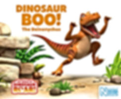 Dinosaur Boo book cover