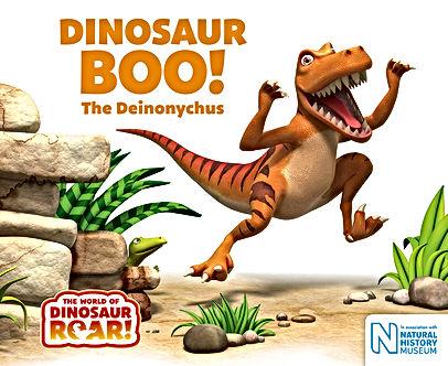 Dinosaur Boo book cover