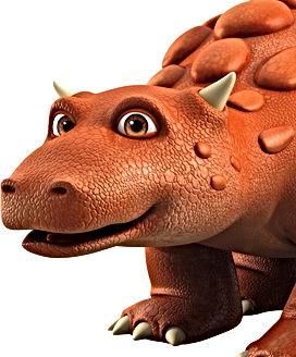 Close up of Dinosaur Bash