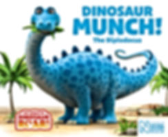 Dinosaur Munch book cover