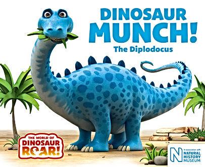 Dinosaur Munch book cover