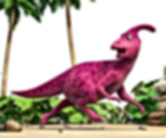 Dinosaur Honk running