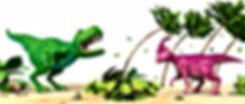 Dinosaur Roar roars at Dinsaur Honk