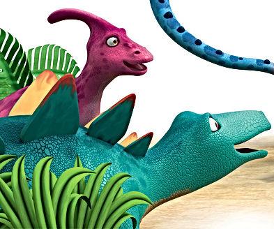 Dinosaur Whack and Dinosaur Honk