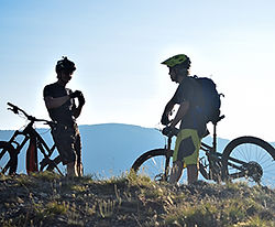 best mountain bike tours in Italy