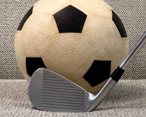 サッカーとゴルフ!? ベストセッティングを考える