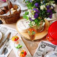 ■花と食のユニット Bonheur!