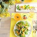 花と食のユニットボヌール 秘密のミモザパーティ