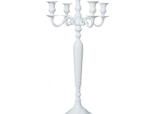 Chandelier blanc 80cm