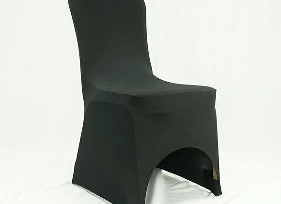 Housse de chaises lycra flex noir