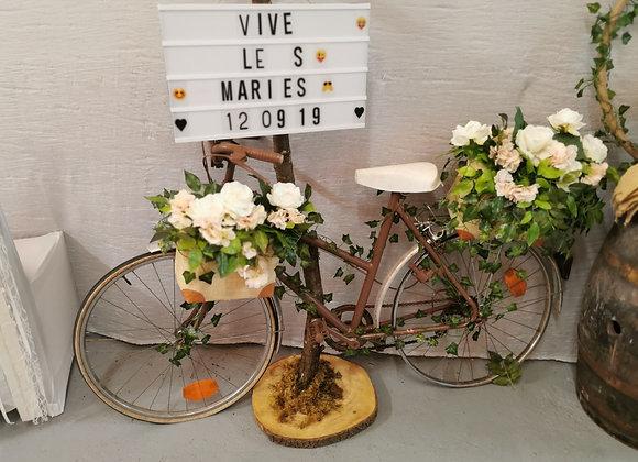 Vélo fleuris