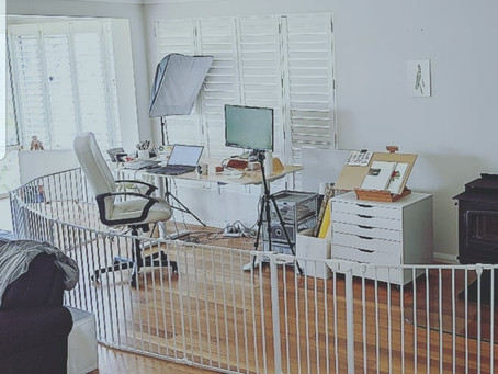 How to work at home safely with kids