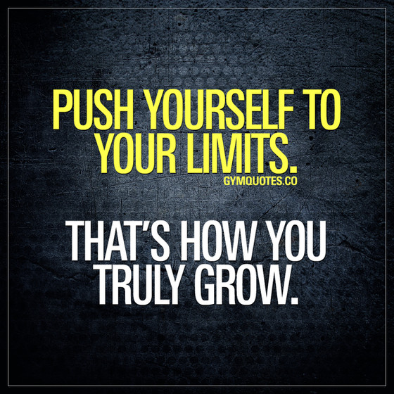 MONDAY MOTIVATION: Push your Limits, not your Waistline